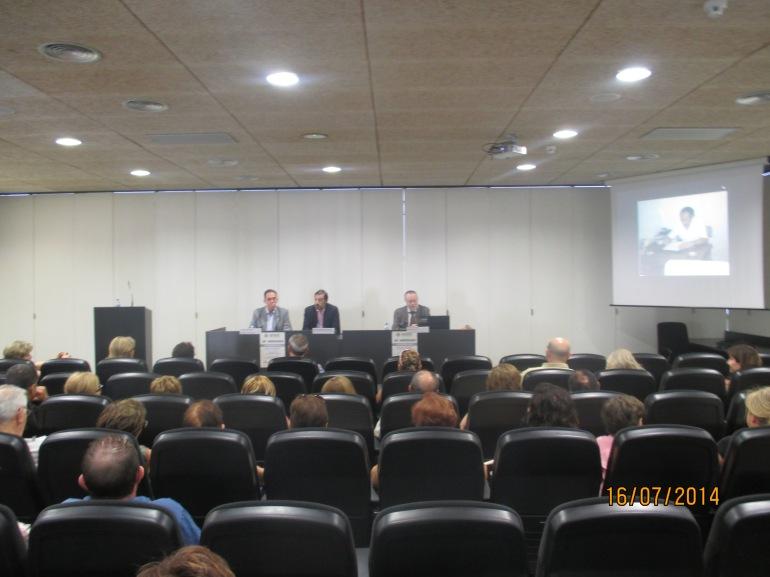 Los asistentes al congreso del 40 aniversario APAEX Elche.