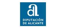 Logo diputación de Alicante.