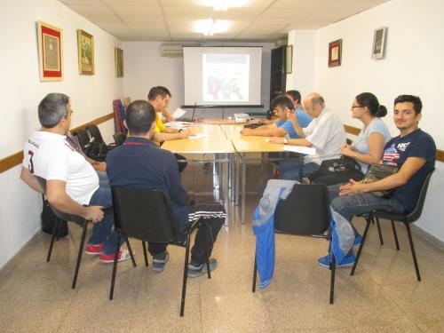 Actividades en el taller de habilidades sociales.