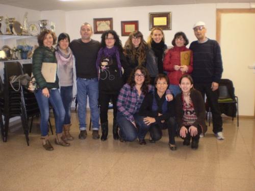 Foto del curso de voluntariado.