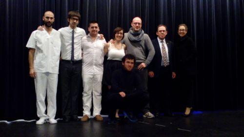 El elenco de Dakota, de Tadis Teatro.