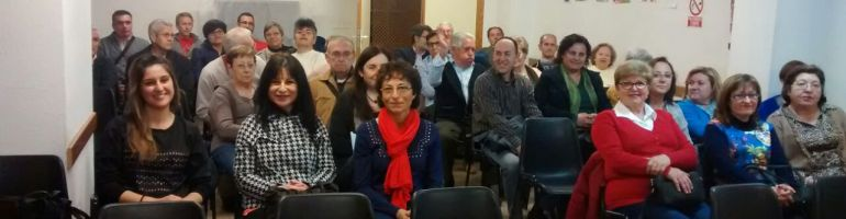 Público en el día de la mujer trabajadora.