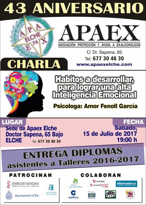 APAEX - Lamina A4 43 aniversario