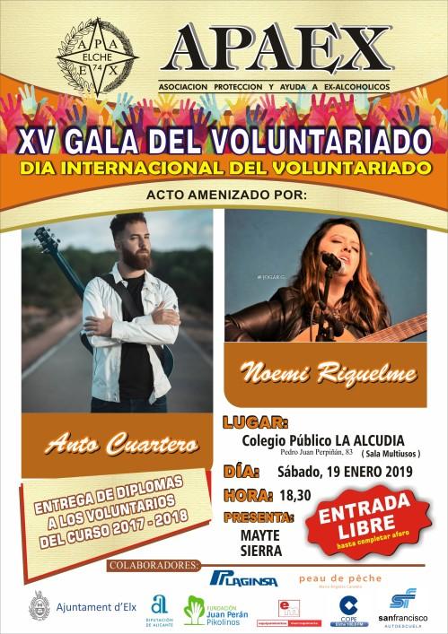 apaex - xv gala voluntariado
